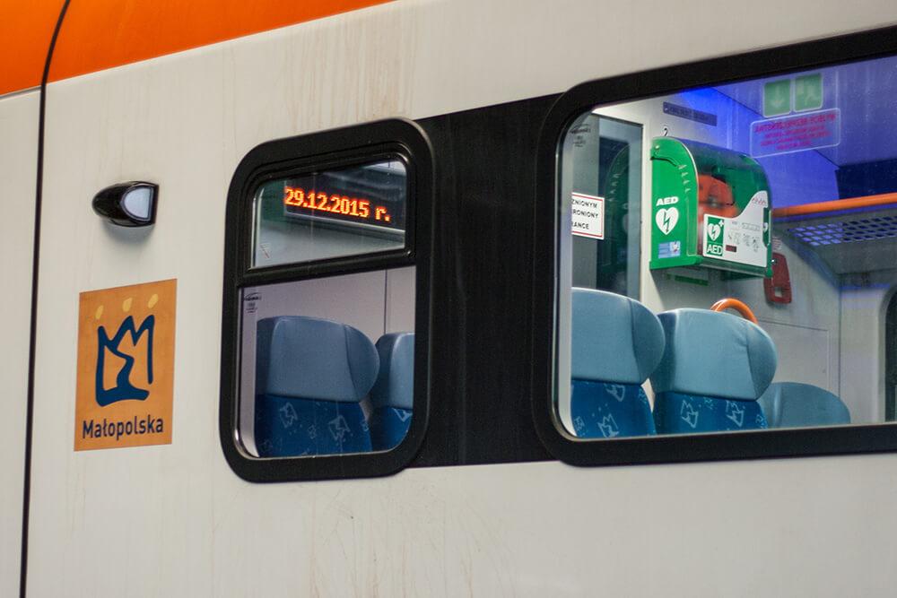 pociąg, podróż, kolej, koleje malopolskie