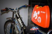 pad toruń, rower, defibrylator, Primedic HeartSave AED