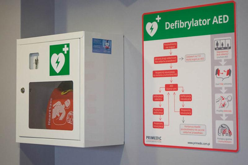 defibrylator AED w twojej okolicy, Primedic HeartSave AED