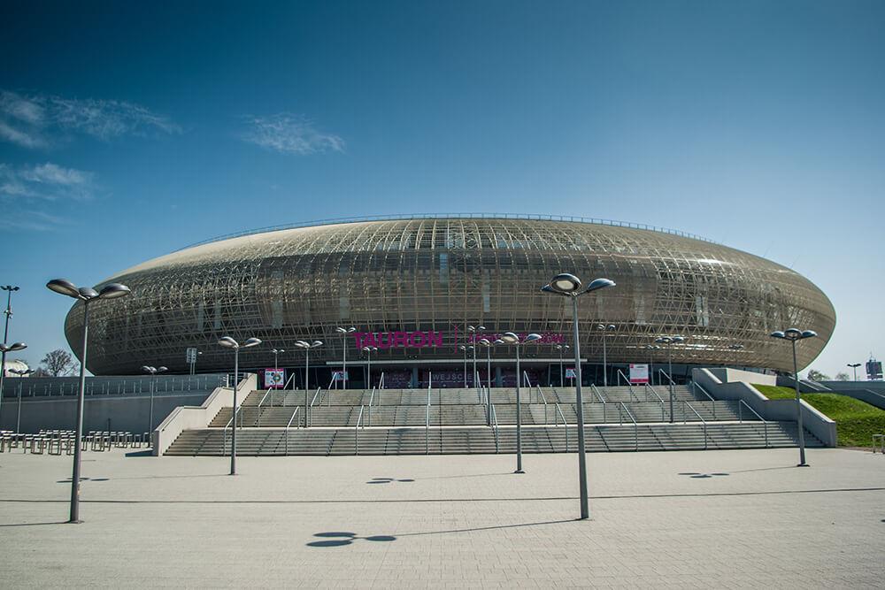 tauron arena, budynek, koncerty, promocja