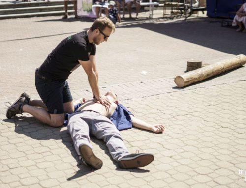 Dzielny Sandomierz – kolejne uratowane życie