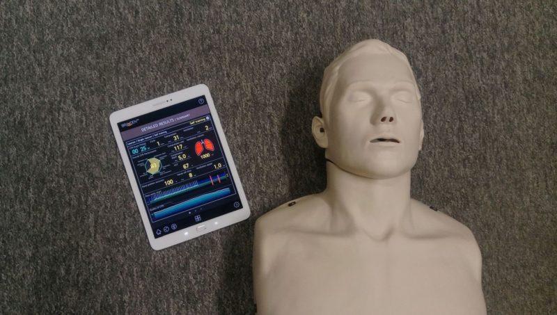 defibrylatory AED, aplikacja AED