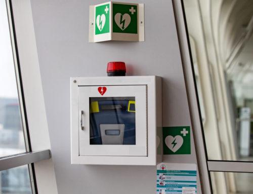 Ochrona AED przed kradzieżą i zniszczeniem