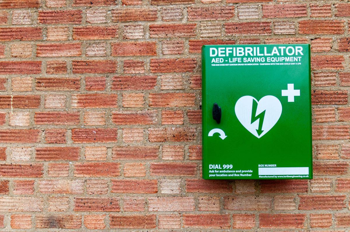 poparcie wniosku o defibrylator