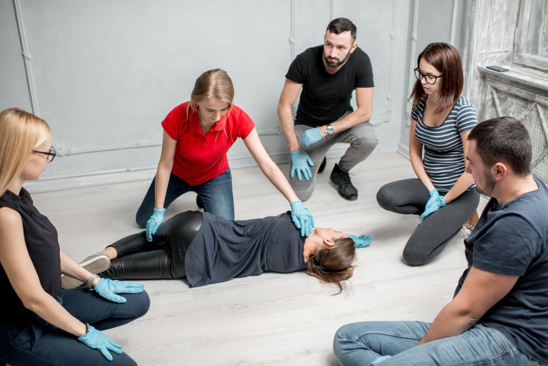 szkolenie z pierwszej pomocy, podstawowe zabiegi BLS